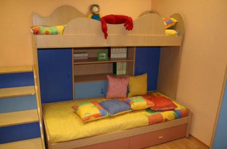 Chọn phòng ngủ hợp lý cho trẻ em