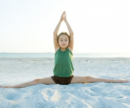 Yoga giúp giải tỏa stress cho trẻ em