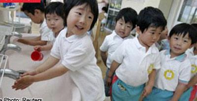 Ngạc nhiên giáo dục mầm non Nhật Bản
