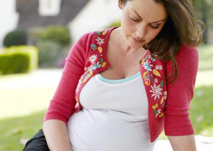 Bị tiêu chảy cuối thai kỳ