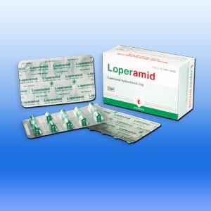 Không sử dụng thuốc loperamid cho trẻ dưới 6 tuổi
