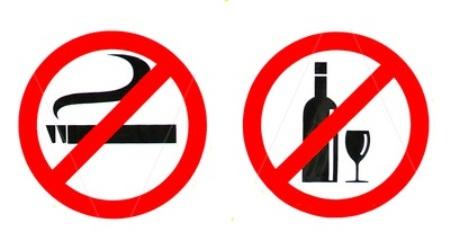 Rượu và thuốc lá ảnh hưởng tới khả năng thụ thai
