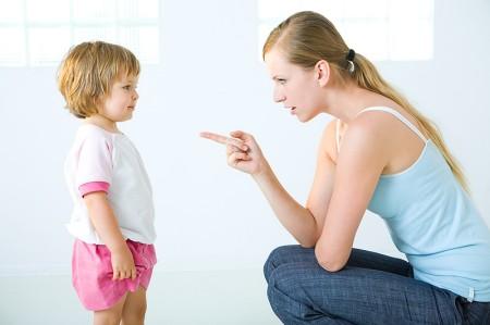 Nên có biện pháp kỷ luật tích cực khi trẻ mắc lỗi