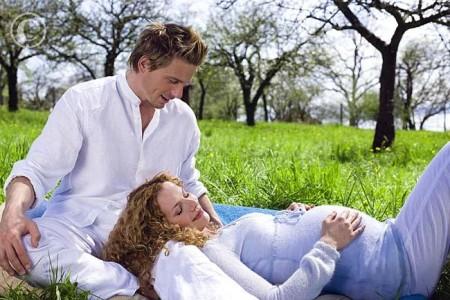 Chồng là chỗ dựa quan trọng khi vợ bầu bí