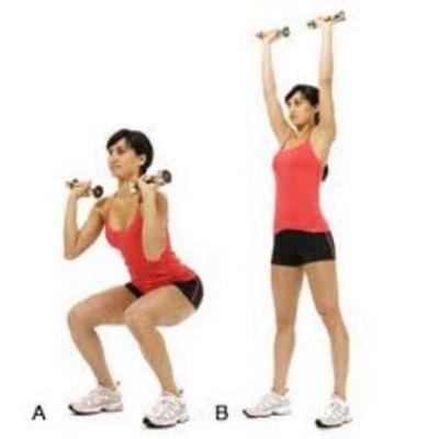 Động tác đứng lên ngồi xuống giúp bảo vệ sức khỏe vùng bụng của bạn
