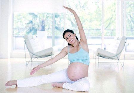 Bà bầu nên thoải mái khi mang thai