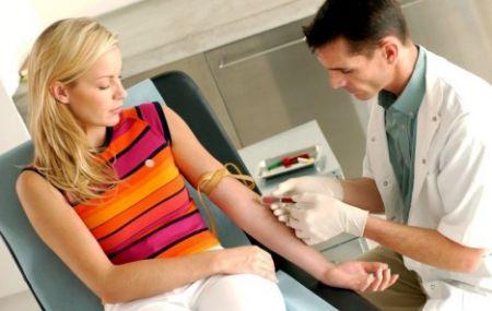 Xét nghiệm máu để phát hiện hội chứng Down ở thai nhi