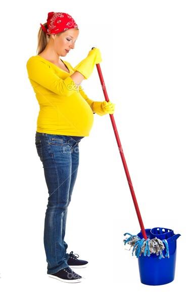 An toàn khi lau dọn nhà cửa: bà bầu cần chú ý!