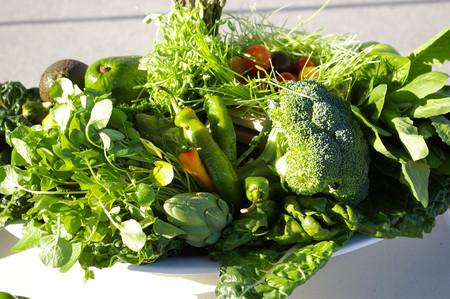 Hoa quả không thể thay thế cho rau xanh.