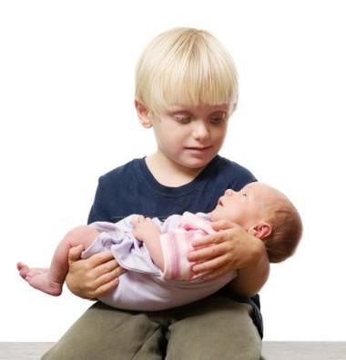 Để trẻ yêu thương em từ lúc em sắp chào đời