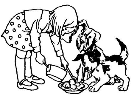 Thông qua việc nuôi động vật trong nhà, bạn có thể dậy con mình học cách yêu thương, có trách nhiệm hơn.