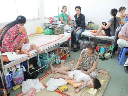 Ninh Thuận trở thành tỉnh đầu tiên công bố dịch tay chân miệng.