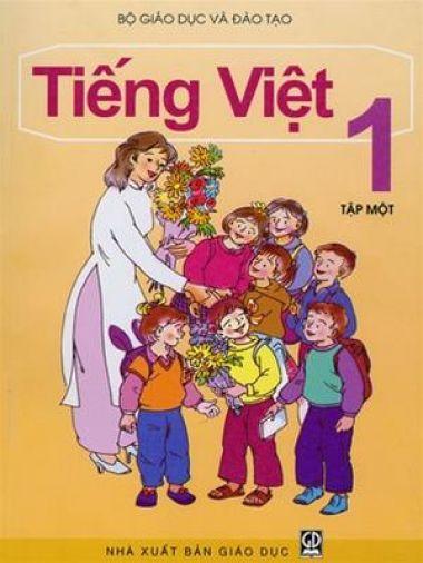 Sách Tiếng Việt lớp 1