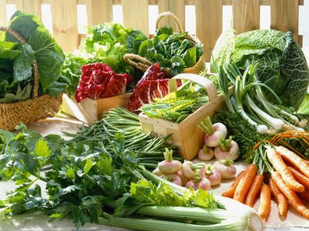 Axit folic có ở trong nhiều loại rau củ quả
