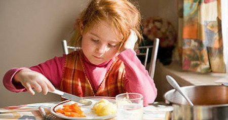 Vì nguyên nhân gì mà trẻ biếng ăn?