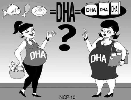 DHA rất cần thiết nhưng nếu thiếu hoặc thừa DHA cũng đều đáng ngại