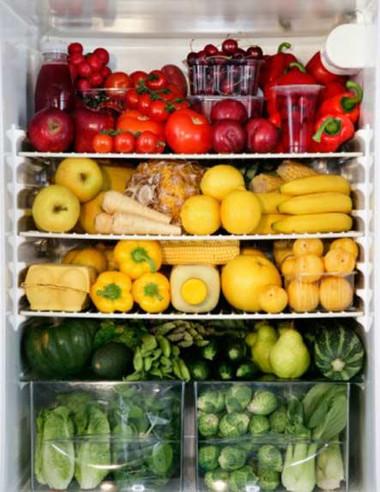 Nên bảo quản rau quả trong tủ lạnh để giữ được các dưỡng chất