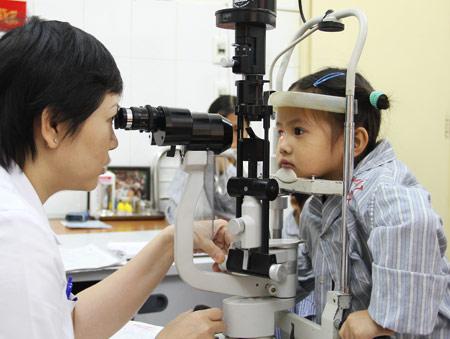 Có một số bệnh mắt bẩm sinh ảnh hưởng lớn đến thị lực của trẻ.
