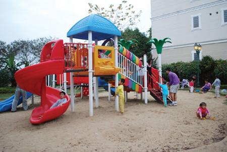 Trẻ em rất cần những sân chơi để được phát triển lành mạnh hơn