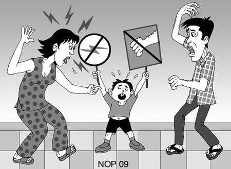 Dùng bạo lực để dạy con trẻ sẽ cho hậu quả khôn lường
