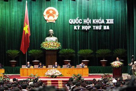 Kỳ họp thứ 3 của Quốc hội khóa XIII đã thông qua Bộ luật lao động sửa đổi