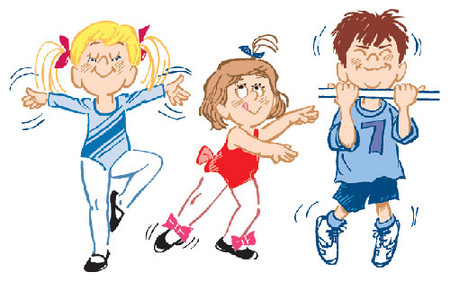Các hoạt động thể chất giúp trẻ khỏe mạnh hơn.