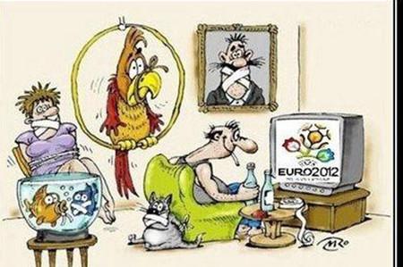 Euro 2012 có sức hấp dẫn quá lớn?