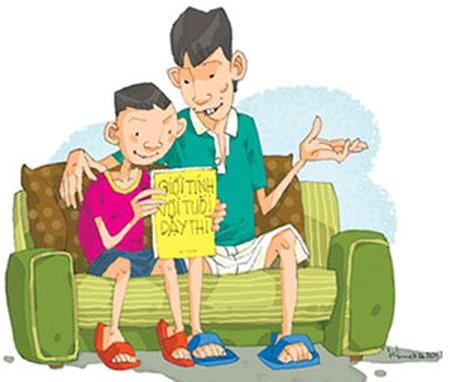 Cha mẹ nên gần gũi con để tuổi dậy thì đi qua một cách an toàn.