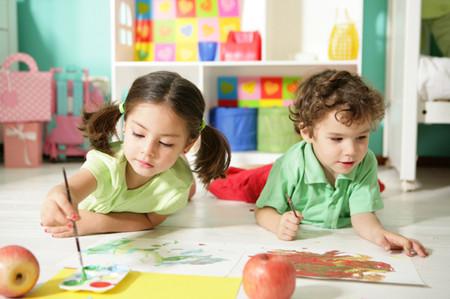 4 tuổi là độ tuổi sức sáng tạo phát triển đến đỉnh cao nhất.