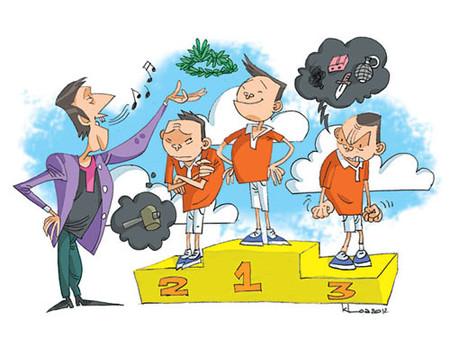 Thường cha mẹ so sánh trẻ với ý định tích cực, nhưng đôi khi, kết quả lại tiêu cực.