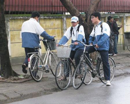 Rất nhiều bạn đã chọn giải pháp đi xe đạp thay cho xe buýt.