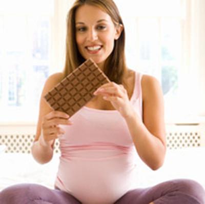 Chocolate được chứng minh là hoàn toàn vô hại với mẹ bầu.