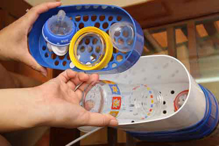 Rửa sạch hóa chất tránh tồn dư.