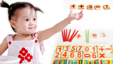 Phép cộng trừ giúp trẻ phát triển những kỹ năng vận động, tư duy và logic.