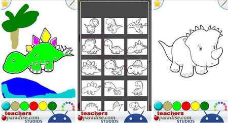 5. Dinosaurs Coloring Book: 1