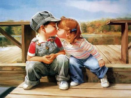 Khi trẻ biết yêu sớm, cha mẹ đừng nên quá lo lắng gây tổn thương trẻ