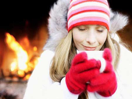 Đồ uống nóng giúp bạn ấm áp hơn và xua tan cái lạnh của mùa đông.