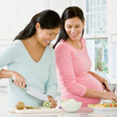 Đối với bà bầu, không phải cứ ăn nhiều là tốt, ăn nhiều là khỏe.