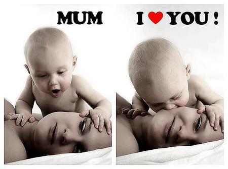 Mẹ ơi! Con yêu mẹ rất nhiều