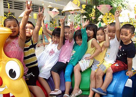 Trẻ mầm non ở TPHCM sẽ nghỉ hè trong 2 tuần.