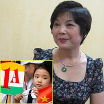 Cô Trương Thị Cẩm Tú sẽ cùng cha mẹ 'gỡ rối' khi trẻ vào lớp 1.