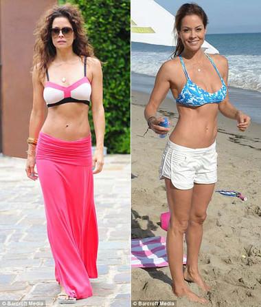 Ngoài việc gen bụng sau sinh, Brooke Burke còn tập luyện thể thao thường xuyên và có chế độ ăn uống nghiêm ngặt.