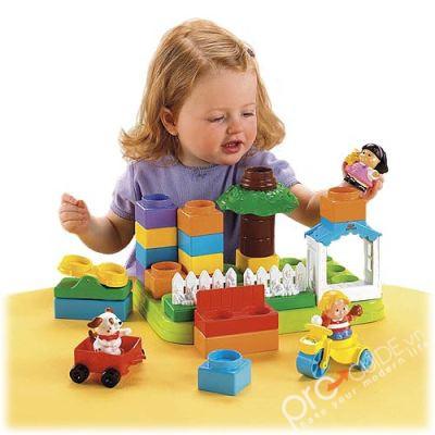 Trò chơi giúp trẻ học cách lập kế hoạch, cùng thảo luận, thực hiện ý định xây dựng của cả nhóm hoặc biết bảo vệ phương án xây dựng của mình.