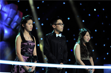 Lan Hương, Thành Tuân, Quỳnh Như (Ảnh từ trái qua phải)
