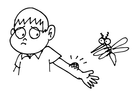 Trẻ thường không chịu nổi nốt ngứa và luôn cố gắng gãi đến xước da
