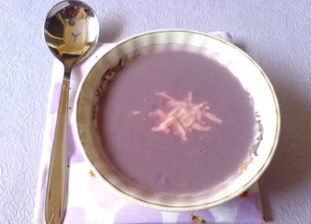 Cà tím đặc biệt thích hợp với cháo thịt băm xay nhuyễn