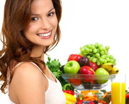 Chị em nên kết bạn thân với rau củ trong quá trình giảm cân