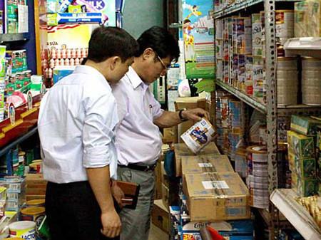 Cục An toàn thực phẩm tiếp tục thanh tra thị trường sữa