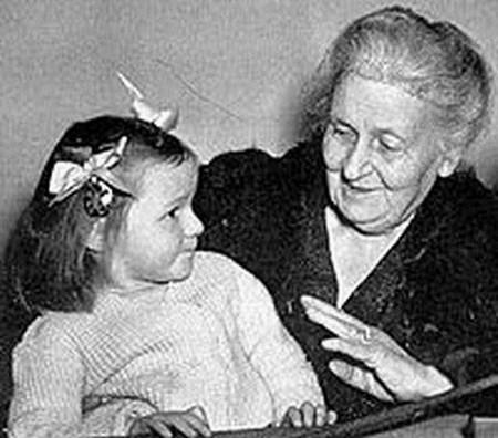 Ts. Maria Montessori, người sáng lập ra phương pháp Montessori