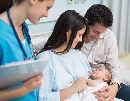 Chỉ 5% trẻ sơ sinh chào đời đúng ngày dự sinh.